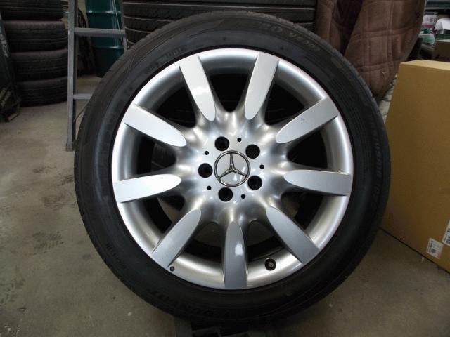 タイヤ&ホイールセット 18年式メルセデスベンツ S550ロング 純正