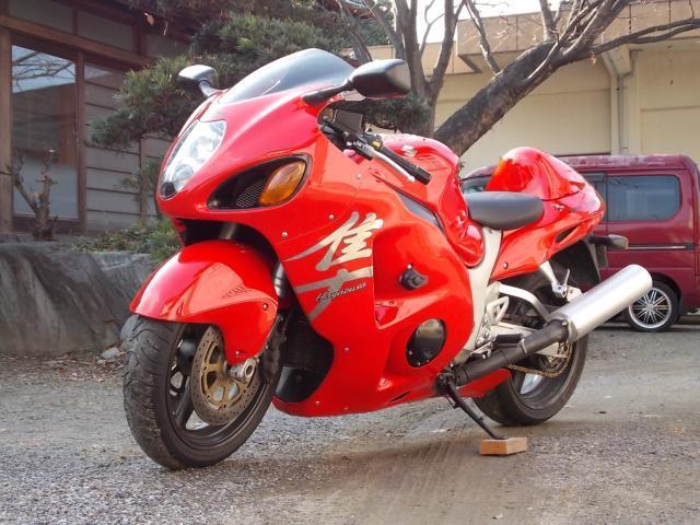 バイク スズキ GSX1300Rハヤブサ