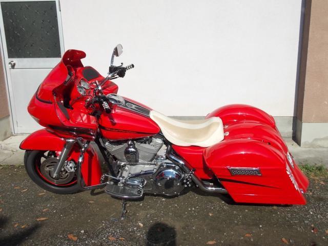 バイク ハーレーFLTR-I1580 カスタム