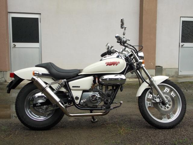 バイク ホンダ マグナ50