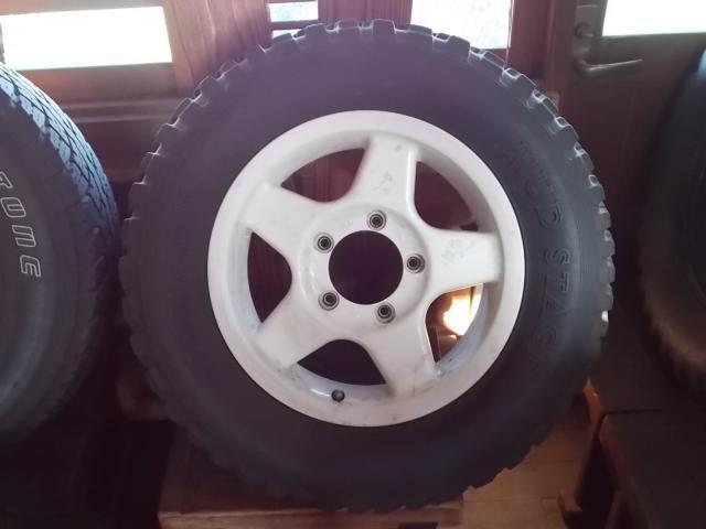 タイヤ&ホイールセット ジムニー・ジープ用 タイヤ&ホイール4本セット
