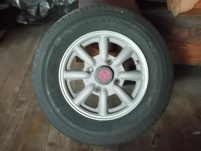タイヤ&ホイールセット ダイハツ用 タイヤ&ホイール4本セット