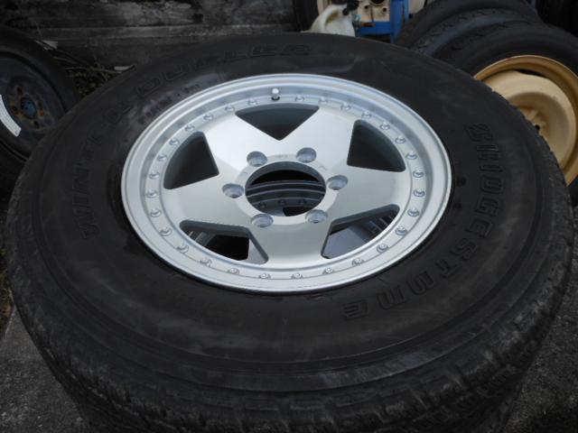タイヤ&ホイールセット ロデオドライブ 6J-15+BSスタッドレス